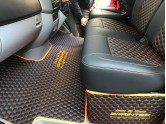 Quilted Stitched Vinyl mats